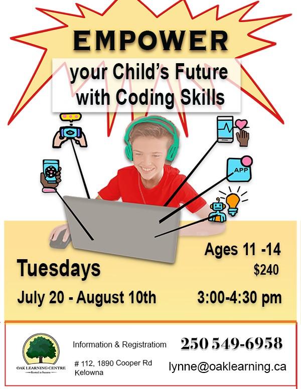 Empower Coding Poster Summer 2021